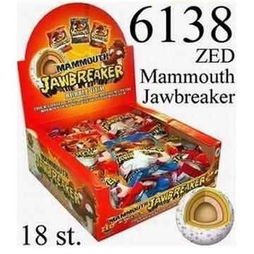 Mammouth Jawbreaker  per stuk