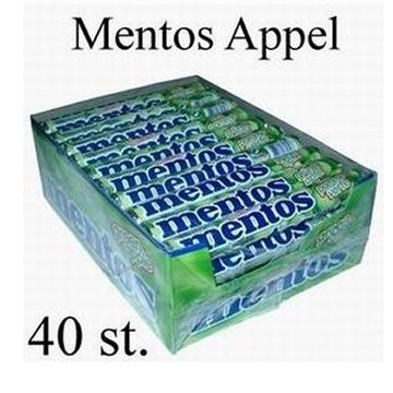 Mentos, Grüner Apfel