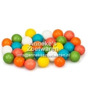 Fun Gum Balls Mini met fruitsmaak  per 200 gram