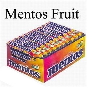 Mentos, Fruit