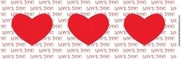 Blikwikkel Liefde nr2  per strip