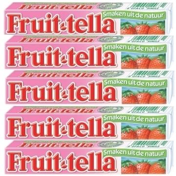 Fruittella Erdbeeren  per rol