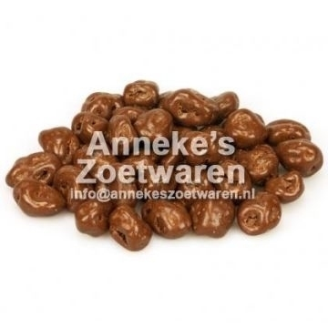 Chocolade Jumbo Rozijnen, melk  per 250 gram