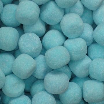 Kogels, Blauwe met zure bruispoeder  per 100 gram