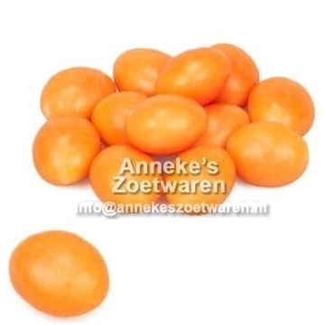 Buttercream, gevulde (Boterbal orange)  per 200 gram