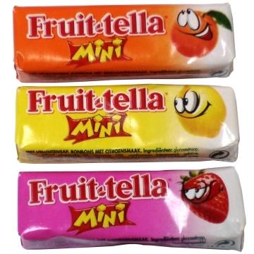 Fruit-Tella mini  per stuk