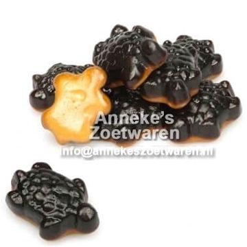 Salmiak Schildkröten  per 100 gram