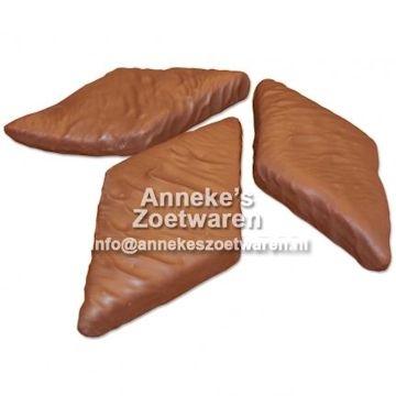 Chocolade Ruitspek, Melk  per stuk