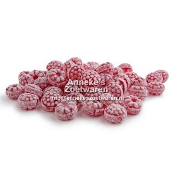 Säure Bonbon mit Himbeergeschmack  per 200 gram