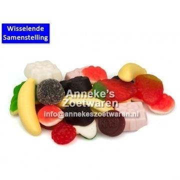 Anneke's Kiddymix (Kindermix zacht gummi) € 2,50/500gram  per 500 gram