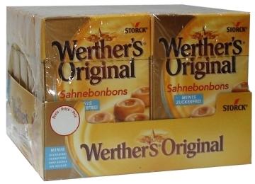 Werther's Roomboter Babbelaar  per doosje
