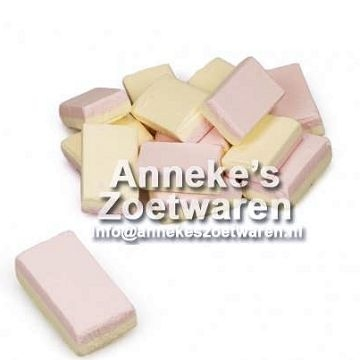 Schuimblokjes, Vanille, 120 gram