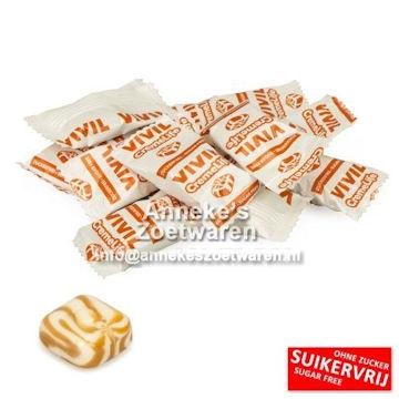 Vivil, Karamell hart ( Zuckerfrei )  per 100 gram