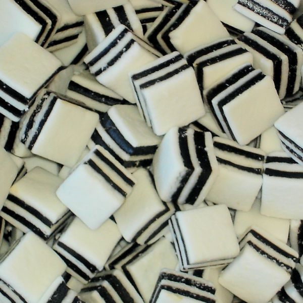 Schwarz-Weiß-Mints
