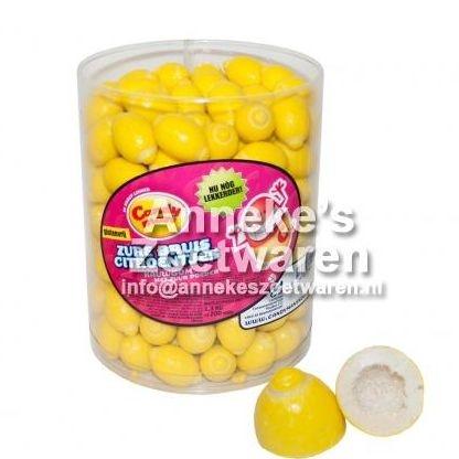 Candy Man, Kaugummi brause Citronchen  per stuk