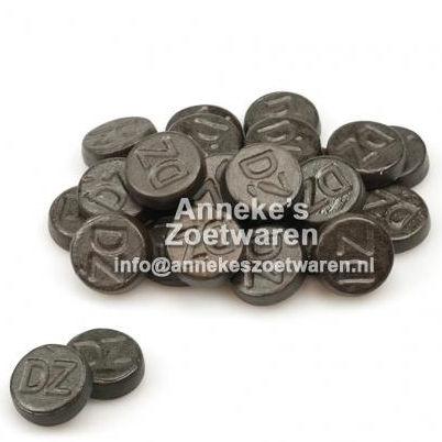 Runder Lakritz DZ, scharf  per 100 gram
