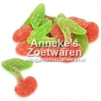Haribo, Kersen, Zure Kersen  per 100 gram