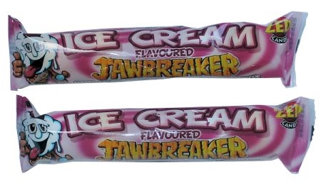 Jawbreaker 5-strip, Ice Cream Romig  per strip