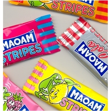 Maoam, Stripes, mixed  per stuk