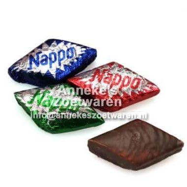 Nougatblok, Nappo (mini) puur zoet  per stuk