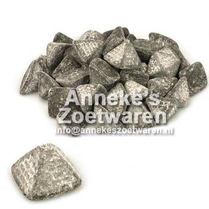 Piramides, zachte zoute drop  per 100 gram