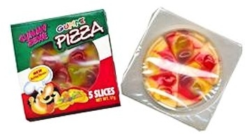Pizza, Gummizone
