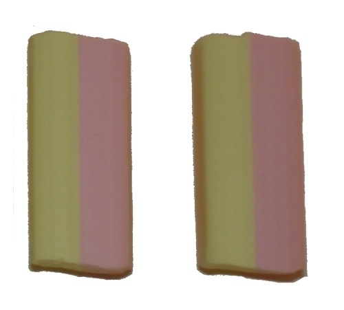Schuimblokken, Vanille  per stuk