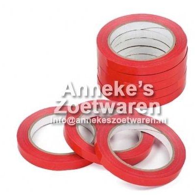Verschlussband rot