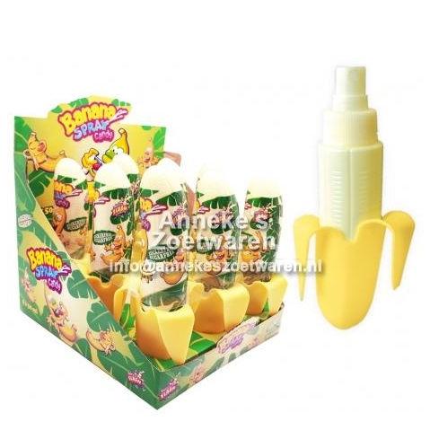 Bonbon-Spray mit Bananengeschmack  per stuk