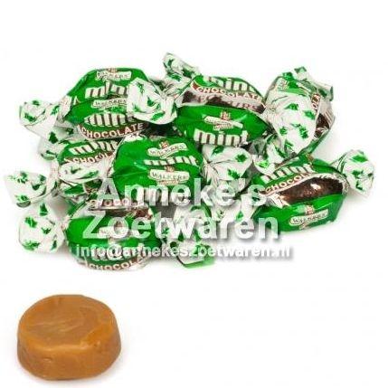 Walkers, Eclairs, Mint Chocolat ( pepermunt )  per 100 gram