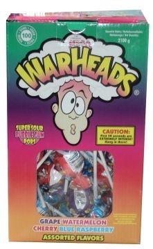 Warheads Mega, SuperSour  per stuk