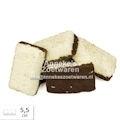 Weißer Speck mit Kokos und Schokolade