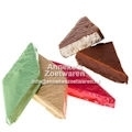 Nougatblock Medium mit Schokoladenüberzug