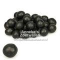 Salmiakrondo's of salmiakballen zwart