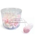 Dextrose Lutscher rosa-weiss 10 Gramm