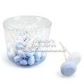 Dextrose Lollys Blauw-Wit 10 gr