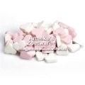 Geboorte hartjes Roze Wit, pepermunt